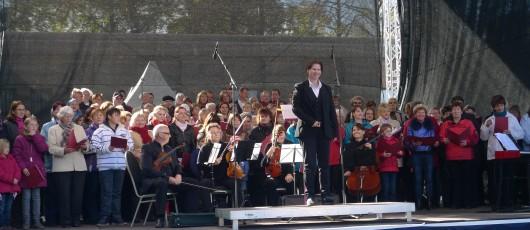 """Auftritt """"Chor der Generationen"""" am 19. Oktober 2013"""