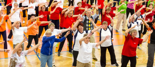 Aktive Senioren; Bildquelle: Landessportbund Sachsen, Jochen Meyer